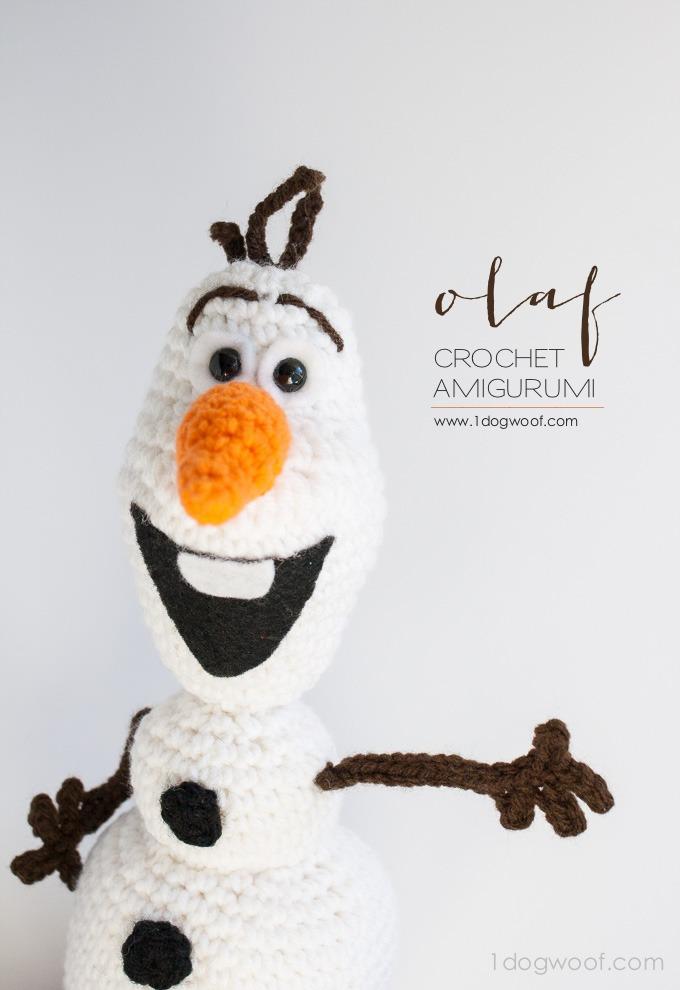 Los juegos de Dragona: Olaf amigurumi - patrón gratuito