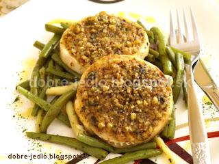Rybie medailónky v orechovej kôrke - recepty