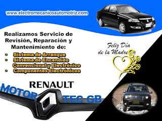 Mantenimiento Sistema Eléctrico y Electrónico Renault