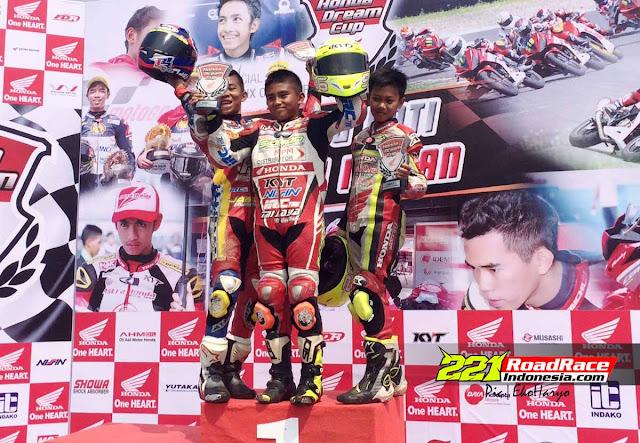 Hasil Lengkap Para Jawara di Honda Dream Cup seri 3 Kemayoran Jakarta