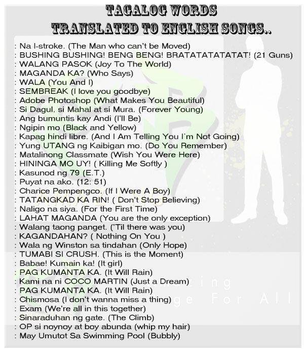 Tagalog citace odstavec datování kaibigan