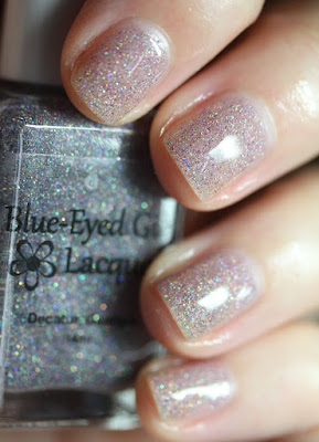 Blue-Eyed Girl Lacquer BEGL Microglitter Prototype