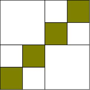 The Quilt Ladies: Basic Square Quilt Pattern made FUN !