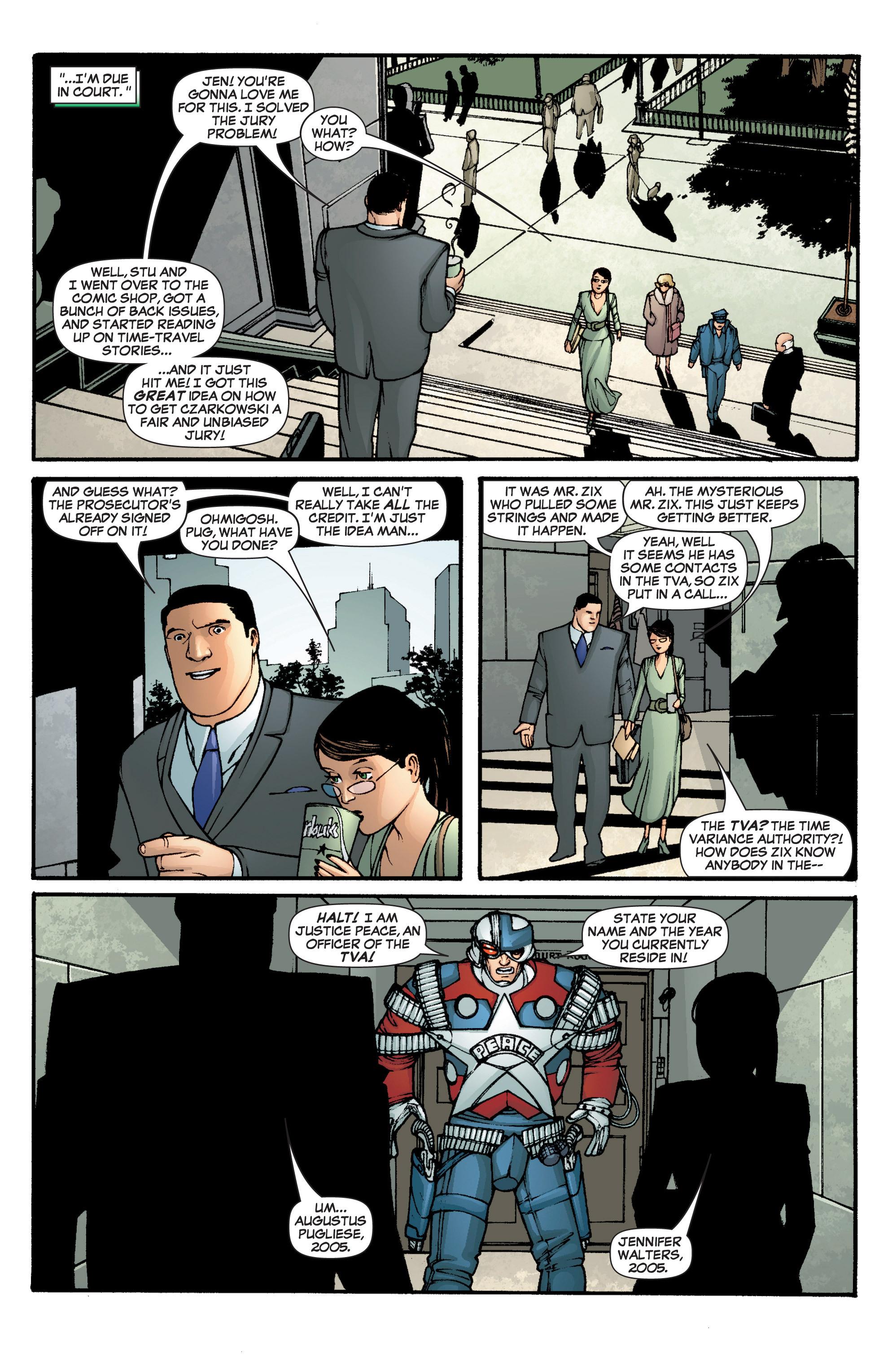 Read online She-Hulk (2005) comic -  Issue #1 - 19