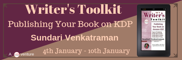 Blog Tour: Publishing Your Book on Amazon KDP (The Writer's Toolkit Series 4)  by Sundari Venkatraman
