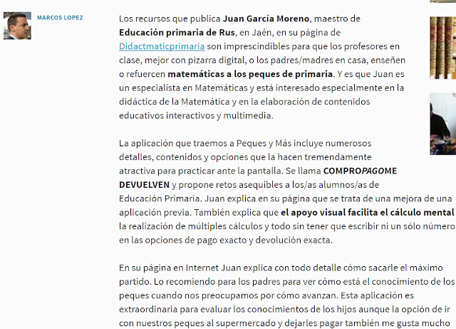 Peques y más. Marcos López