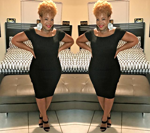 Black Dress, Dresses, Events, Midi Dress, Sweater Dress