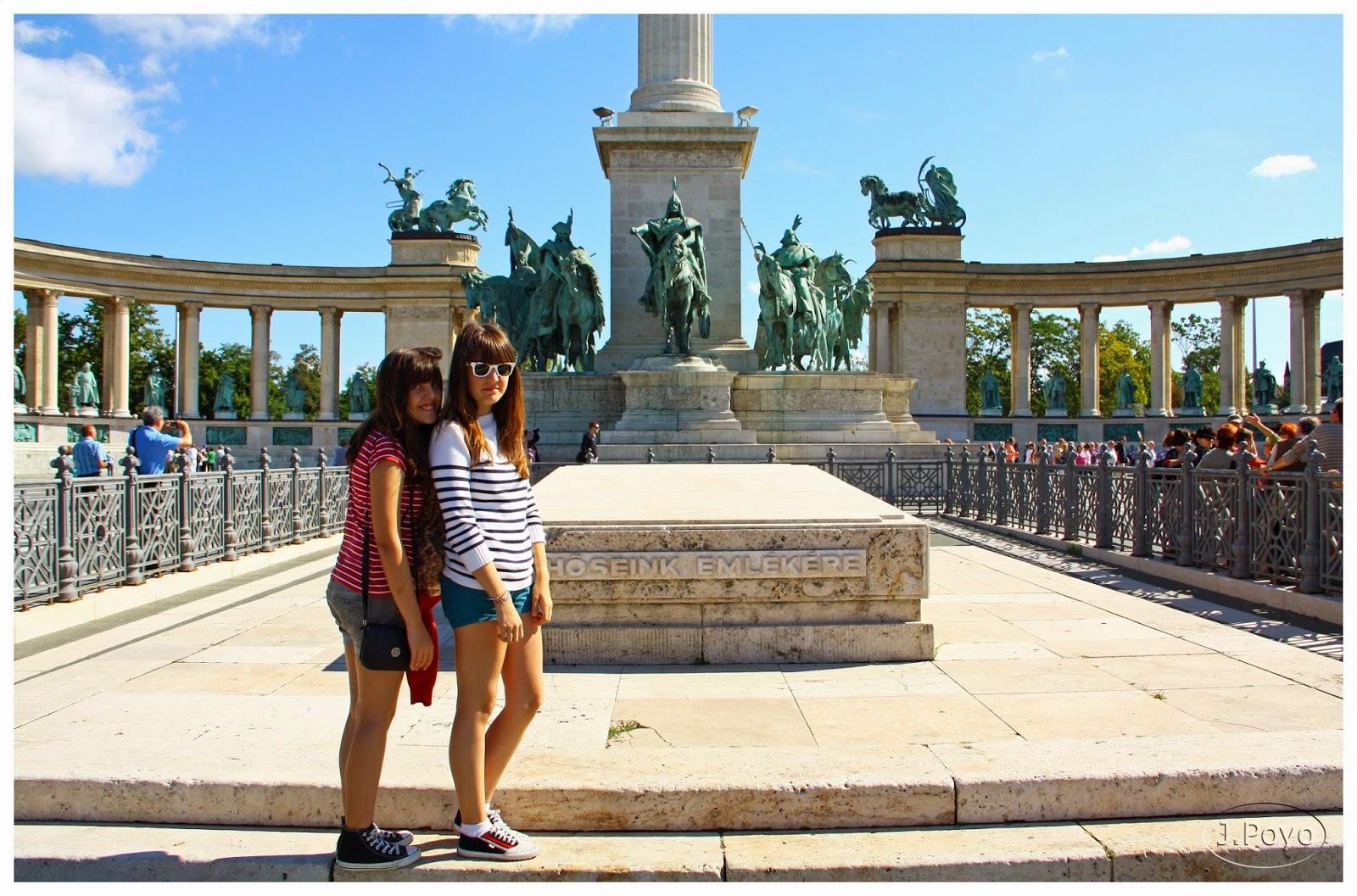 Plaza de los Heroes de Budapest