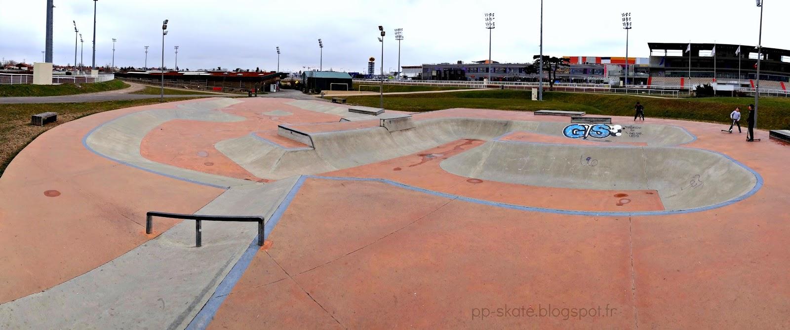 Skatepark Hyppodrome Carré de soie