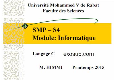 Langage C SMP S4 FSR RABAT