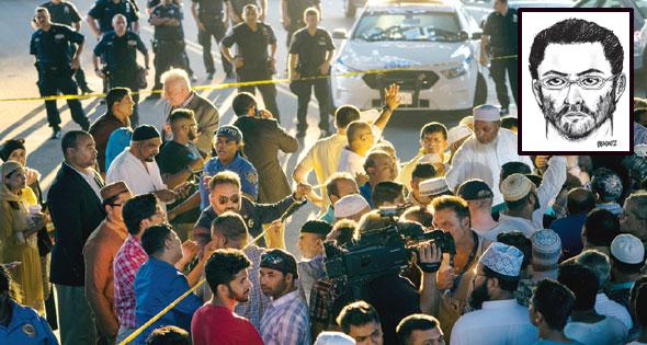 مصرع إمام مسجد ومساعده بالمركز الاسلامي على يد مسلح أمريكي...بنيويورك