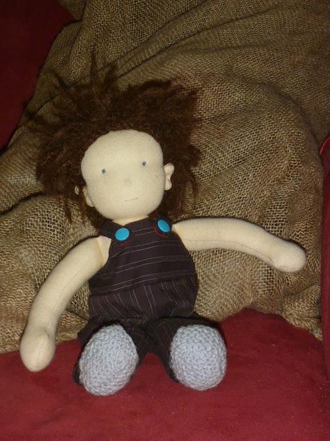 Puppe selbstgenäht