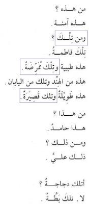 Pelajaran 7 Tilka Isim Isyarah