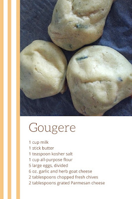 How to make gougere | Easy gourgere recipe