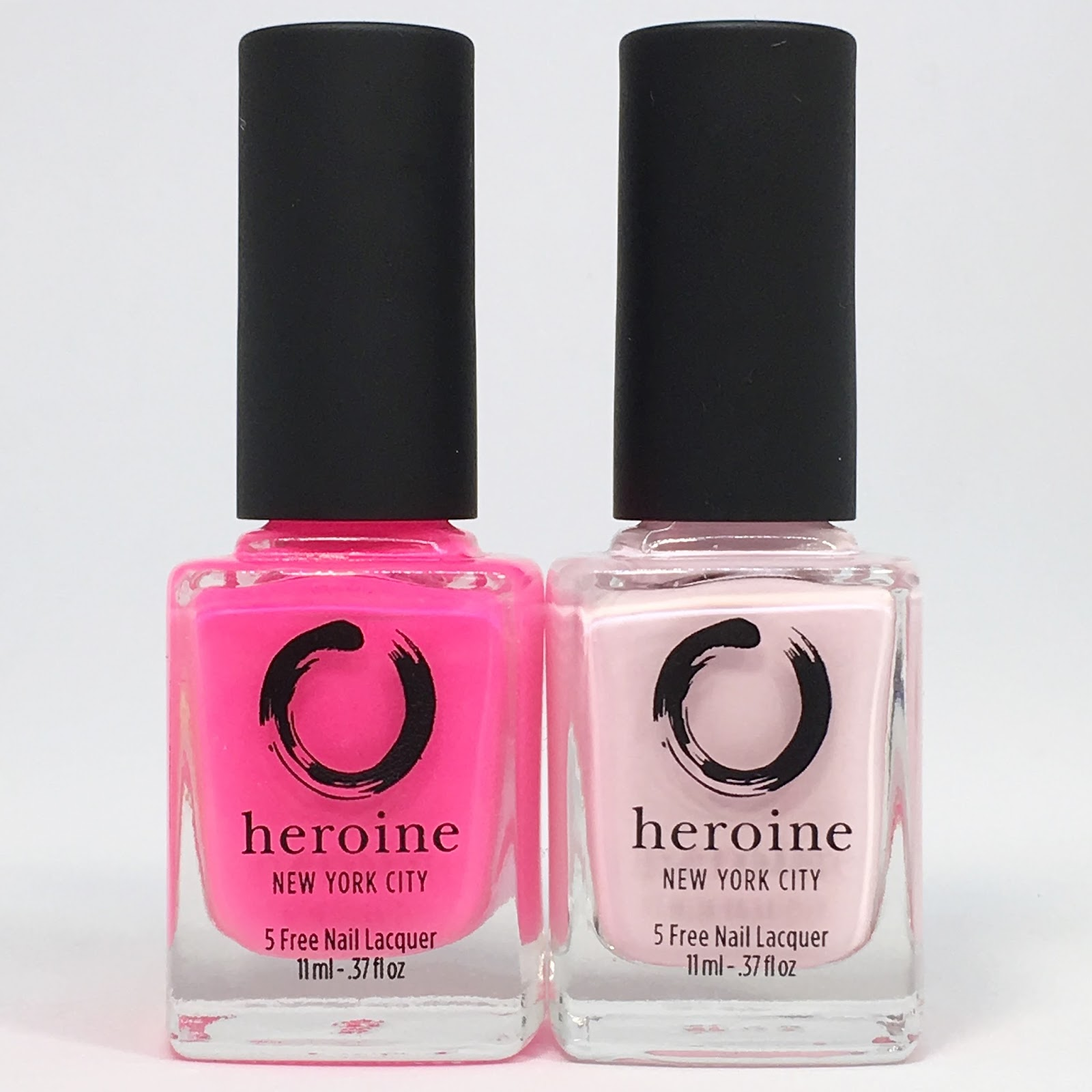 Nail Experiments: Heroine NYC\'s Be A Heroine LE Duo For Breast ...