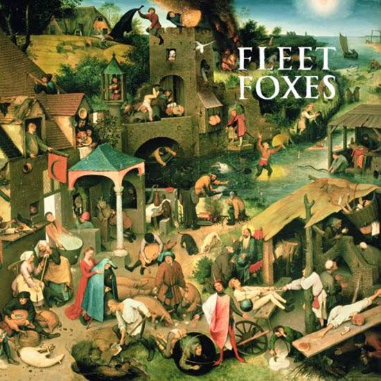 portada disco Fleet Foxes 2008