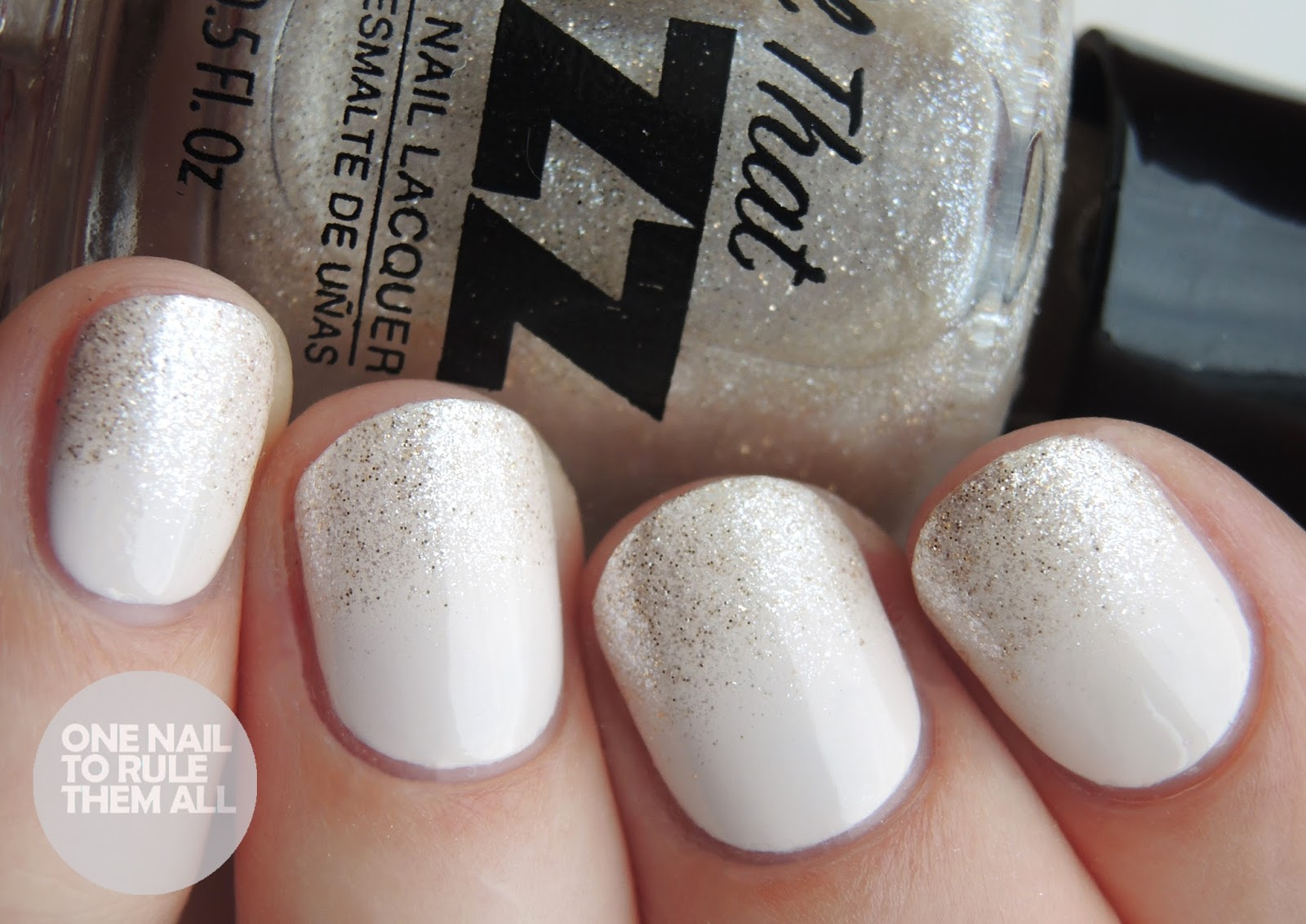 All That Jazz - Bridal Gradient | One Nail To Rule Them All | Bloglovin\'