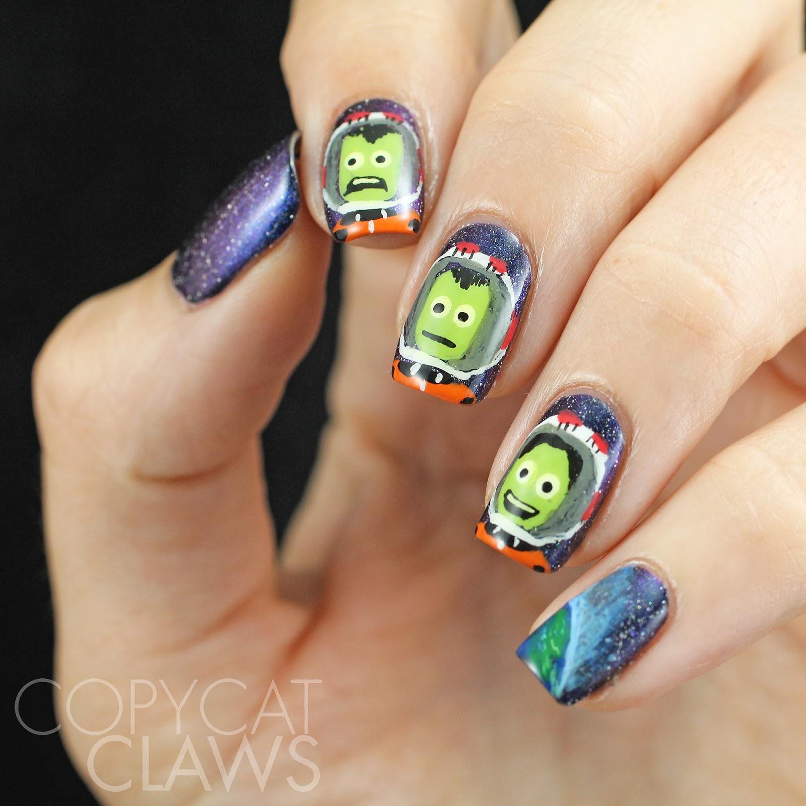 Copycat Claws: 40 Great Nail Art Ideas - Geeks
