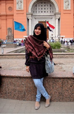 Gambar Contoh Model Baju Casual Muslim Modis Modern