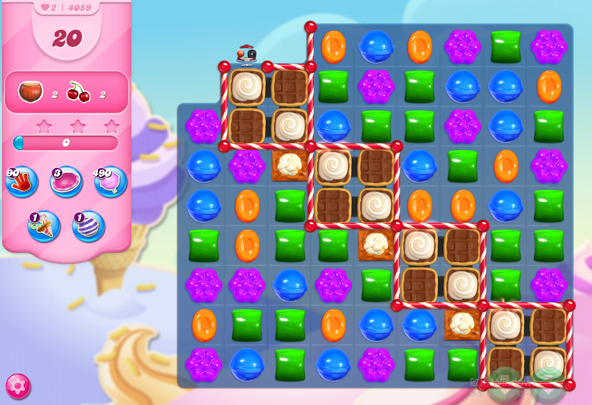 Candy Crush Saga level 4059