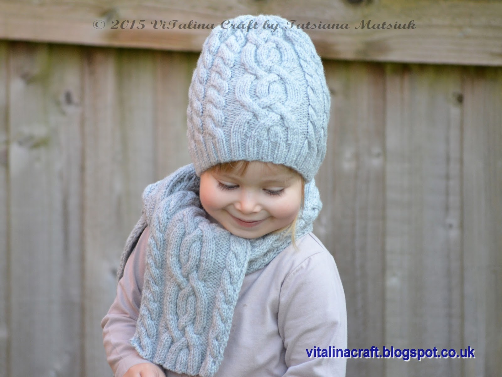 Cloudlet Hat And Scarf Set Vitalina Craft