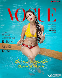 Ruma Sharma in Yellow Bikini For Vogue .xyz Exclusive Pics