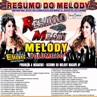 Cd Resumo do Melody vol 60