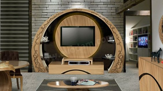 Modern tv wall units living room tv cabinet design - Modern tv wall unit designs for living room ...