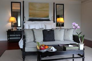 Camera da letto dell'hotel Intercontinental Samui
