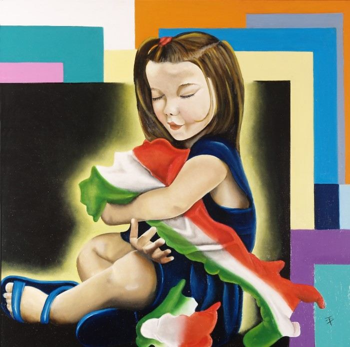 Живые картины. Teresa Palombini
