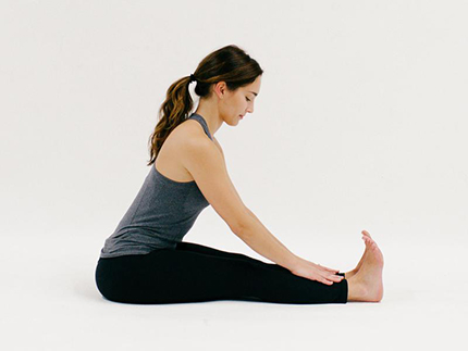 Seated Forward Fold (YOGA)