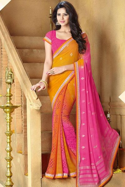 Bangladesh is home to exquisite collection of designer sarees garnished with both traditio Latest Designer Saree Collection In Bangladesh 2017