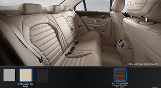 Nội thất Mercedes C250 Exclusive 2015 màu Vàng Silk 225