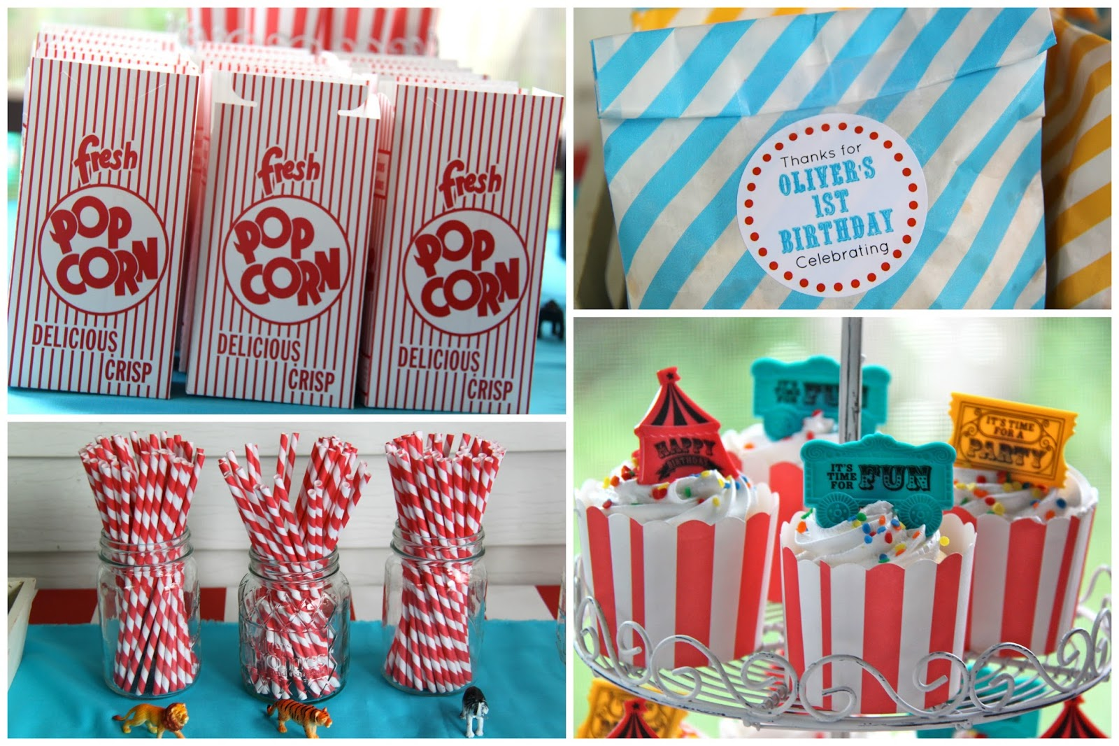 oliver s first birthday a circus party smashed peas carrots