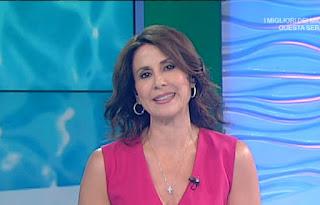 Barbara Capponi vestito rosa 31-07-2020