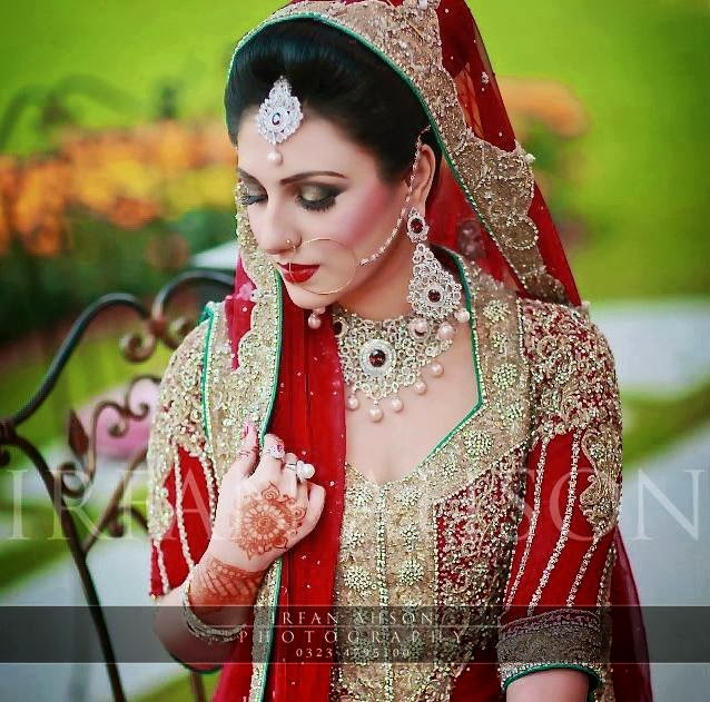Latest Bridal Make Up 2014 ( Special Pakistani Dulhan