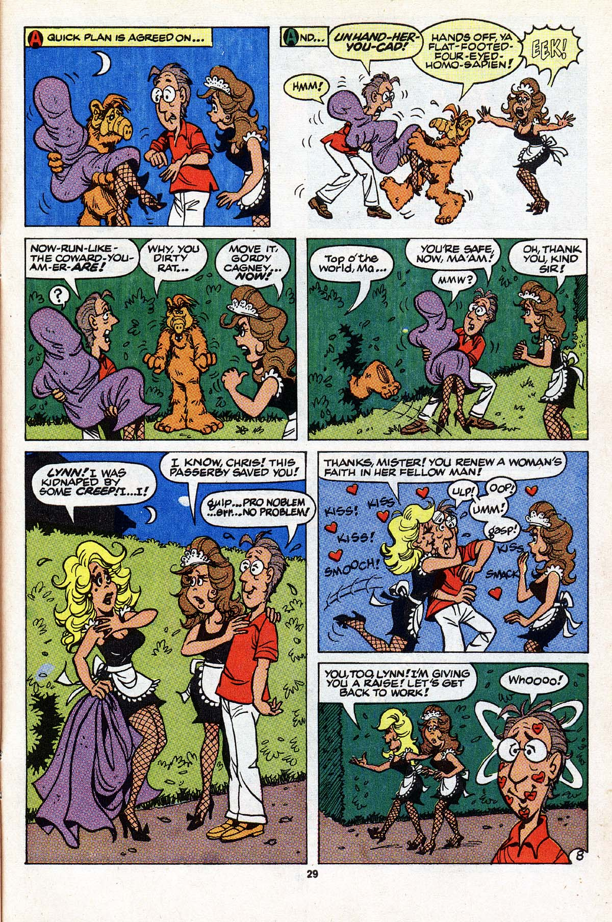 Read online ALF comic -  Issue #22 - 23