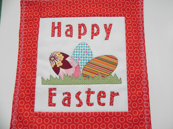Happy Easter Wall Hanging Tutorial + Pattern