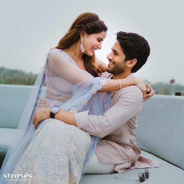 Samantha and Naga Chaitanya Wedding Exclusive Photoshoot Pics
