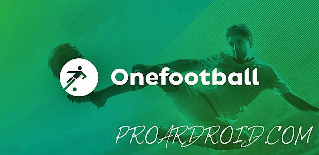 تطبيق Onefootball Live Soccer Scores لمشاهدة اخر الاخبار كرة القدم بدون اعلانات logo