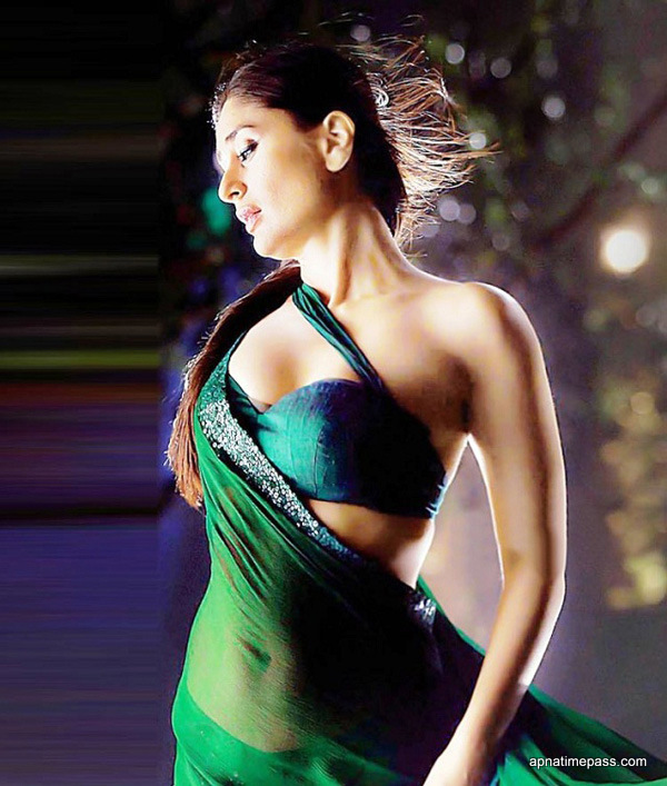 Bollywood World Kareena Kapoor In Saree Wallpapers-1164