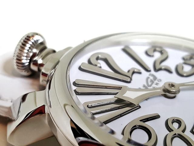 大阪 梅田 イタリア ファッション ウォッチ 腕時計 ガガミラノ GaGa SELECT ラグジュアリー メンズ 男性 5010.10S  レディース 女性 6023.01LT ホワイト 大阪西梅田時計 ファッション プレゼントホワイトデー