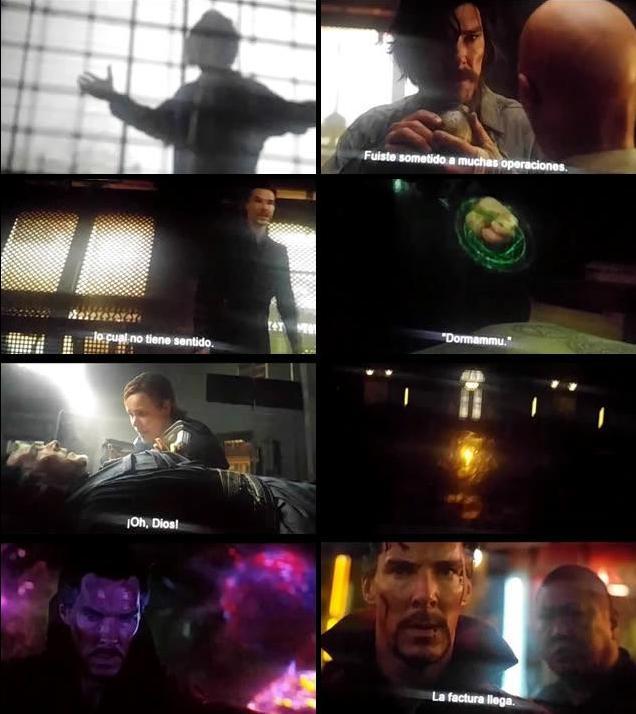 Doctor Strange 2016 English CAMRip