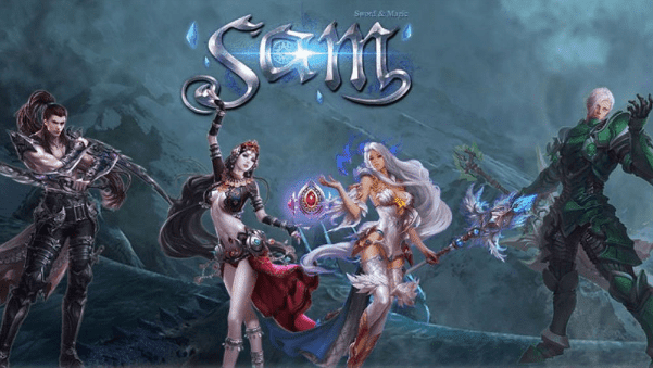 MMORPG TERBAIK  SAM SWORD AND MAGIC