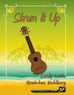 21 Ukulele Pieces in Orff Style by Sandy Lantz and Gretchen Wahlberg