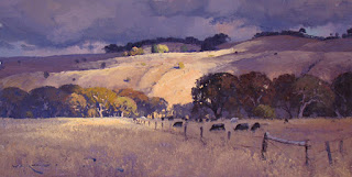 Warwick Fuller painting - Sun on an Overcast Day