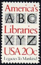 Library History Buff Blog Bradbury Thompson Library Stamp Designer