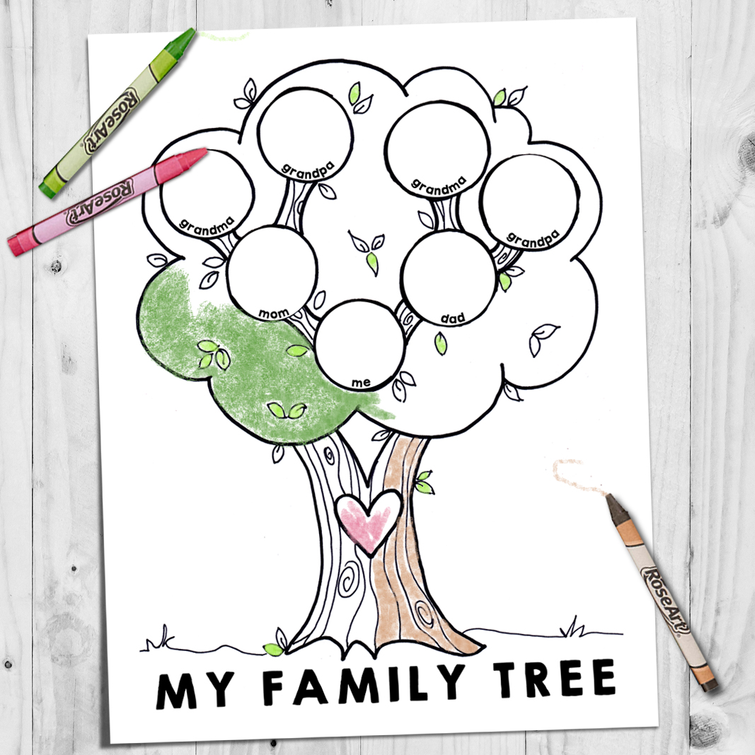 our parents have parents and our grandparents have parents if we draw a family tree we can keep going back for a very long time