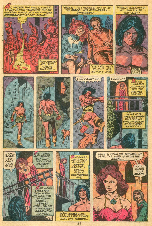 Conan the Barbarian (1970) Issue #23 #35 - English 15