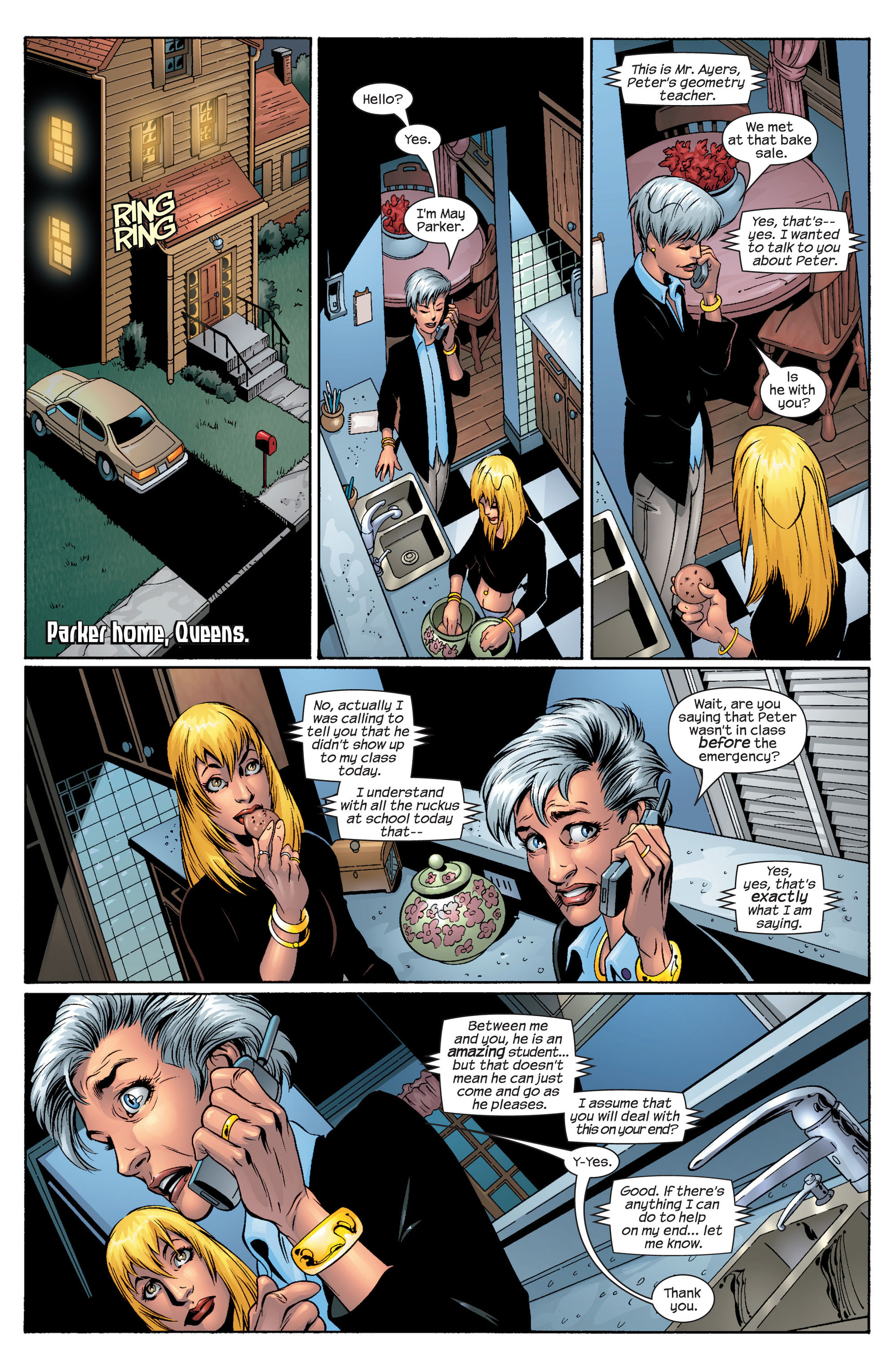 Read online Ultimate Spider-Man (2000) comic -  Issue #44 - 3
